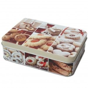 Caja metálica multiusos para decoración - Edición Vintage - Hogar y más