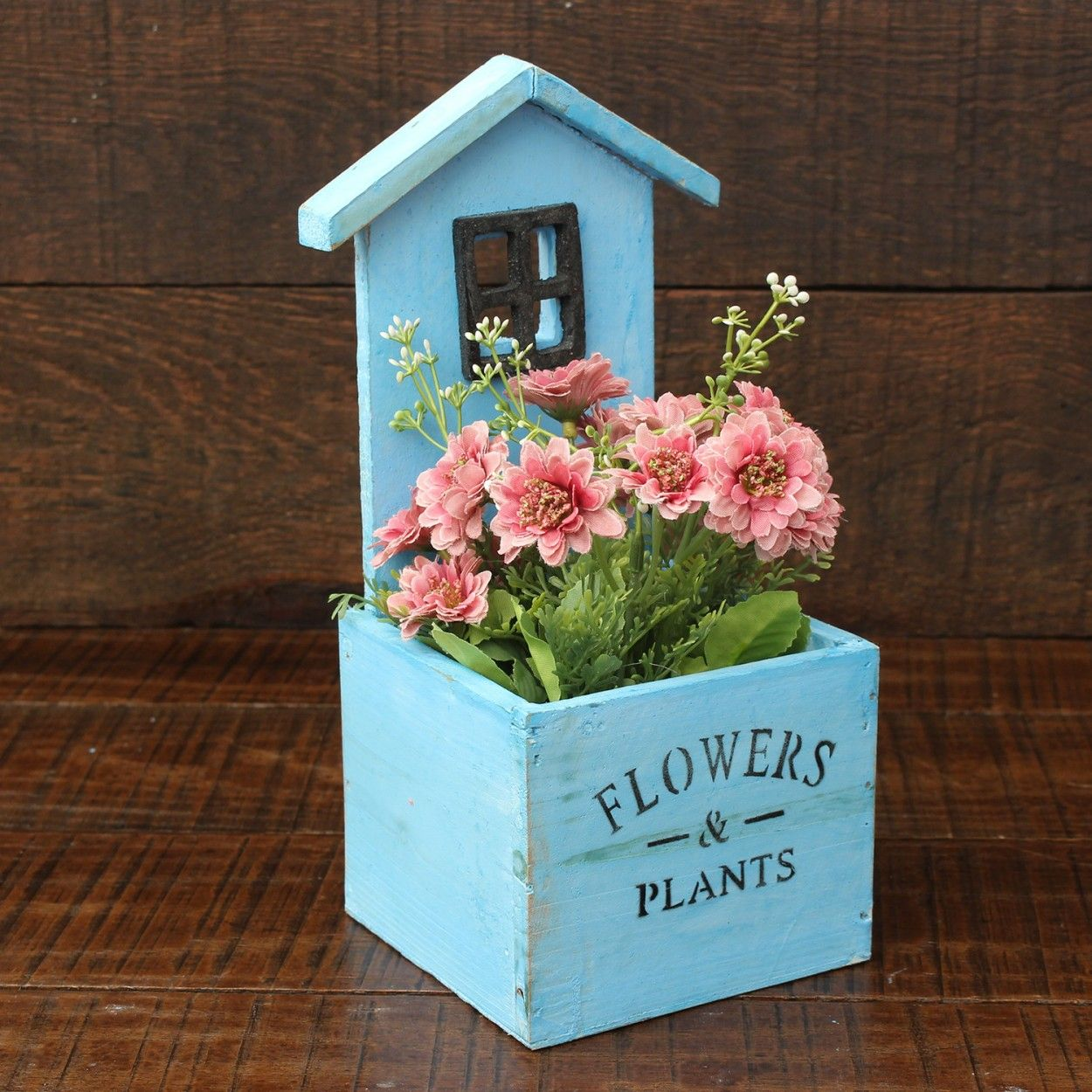 Comprar macetero original de color azul hogar y m s - Hogar y jardin castellon ...