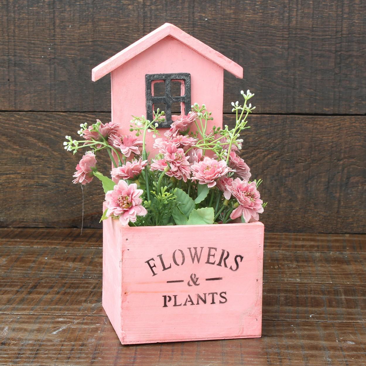Comprar macetero original de color rosa hogar y m s - Hogar y jardin castellon ...
