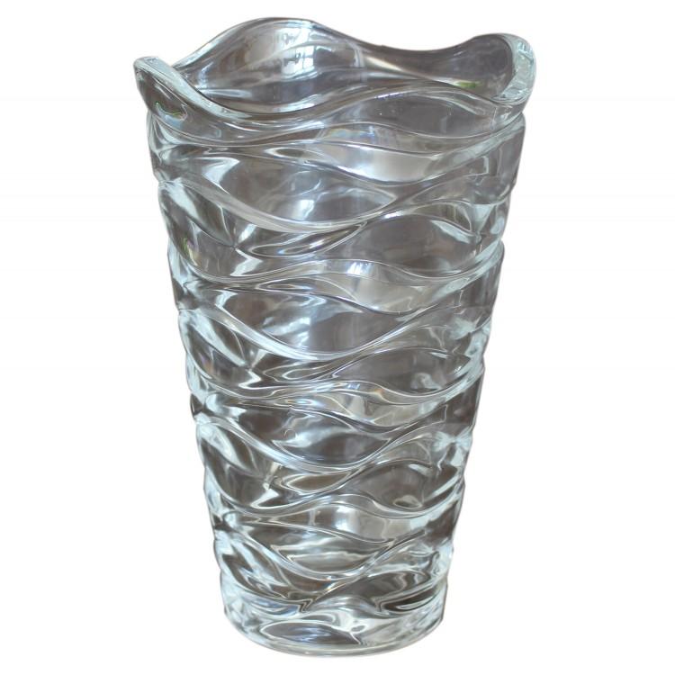 Jarron decorativo para salón de cristal con Diseño curvi Estilo Romántico - Hogar y más