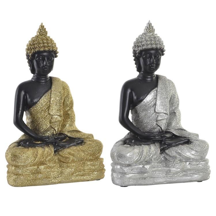 Figura de Buda decorativo para interior o exterior. Diseño Zen - Wabi Sabi- Hogar y más.