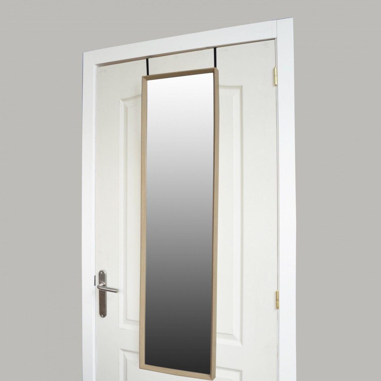 Espejo para puerta de dormitorio bassic hogar y m s for Puertas para dormitorios madera