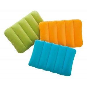 Almohada hinchable para viajes o cámping - Edición Viajes - Diseño Colorido - Hogar y más
