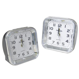 Alarm clock with large numbers - black-and-White - Home and more