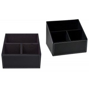 Home and More - Portamandos practical imitation leather 3 compartments. Modern Design.
