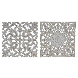 Altarpiece a decorative wood-carved wall. Decoration France 24 x 25 cm - Home and more