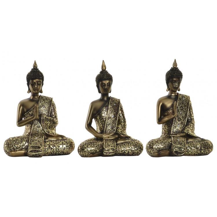 Comprar figura de buda de la suerte zen color oro hogar y m s - Figuras buda decoracion ...