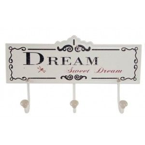 Coat rack Wall, Metal, with a distressed Finish. Stylish Design/France. Ideal for Entry - Home and More