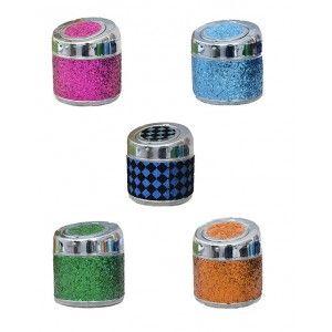 Cenicero de Purpurina Diferentes colores a elegir. Fantasia/Original. Ideal para regalar. 10X9 CM -Hogarymas-