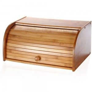 Bamboo wood bread basket (27x40x16.5 cm)