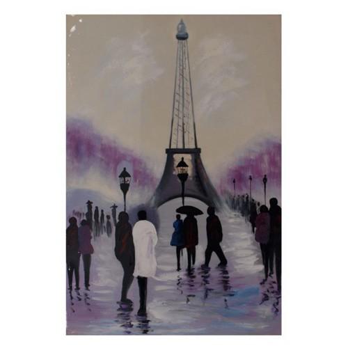 Box canvas in oil painting paris