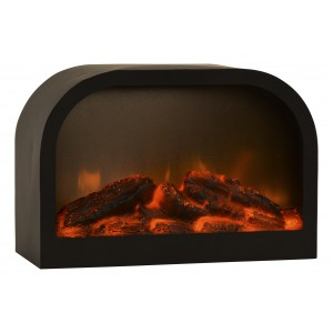 Fireplace with LED lighting, perfect for your home 2000mAH. Cozy/Modern 28X12,5X19,6 CM.-Hogarymas-