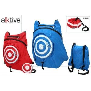 Backpack Folding Design Target, 2 Models to choose from Red and Blue. Original/Modern and Fun 110 x 100 x 70 cm-Hogarymas-