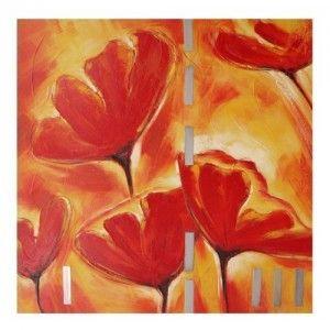 Cuadro lienzo flores 05204