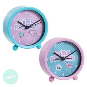 Alarm clock 9 cm diameter, Home and More