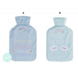 Bolsa de agua caliente con diseño gato 2 lts, Hogar y Mas