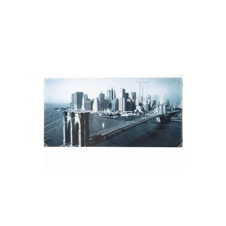 Cuadro de cristal Puente de Brooklyn-New York