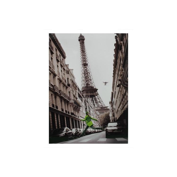Cuadro de la Torre Eiffel (París), en Fotoimpresión, sobre Lienzo,para Salón/Recibidor. Diseño France (50cmX69cm) - Hogar y Más