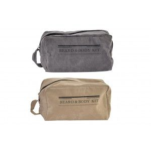 Bag Man Travel Velvet, 2 Models to choose from Grey or Brown. Original design 25x11x13 cm-Hogarymas-