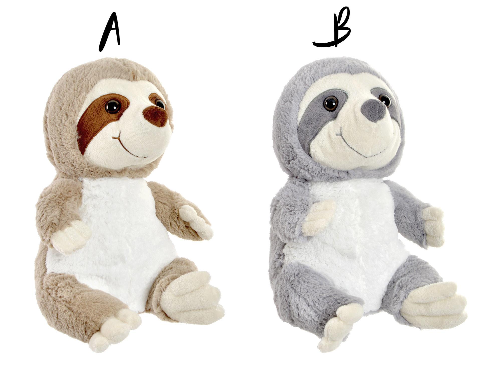 Sujetapuertas Decorative Sloth Bear on Polyester, Ideal for your Original home/Cheerful 18X21X25 cm-Hogarymas-