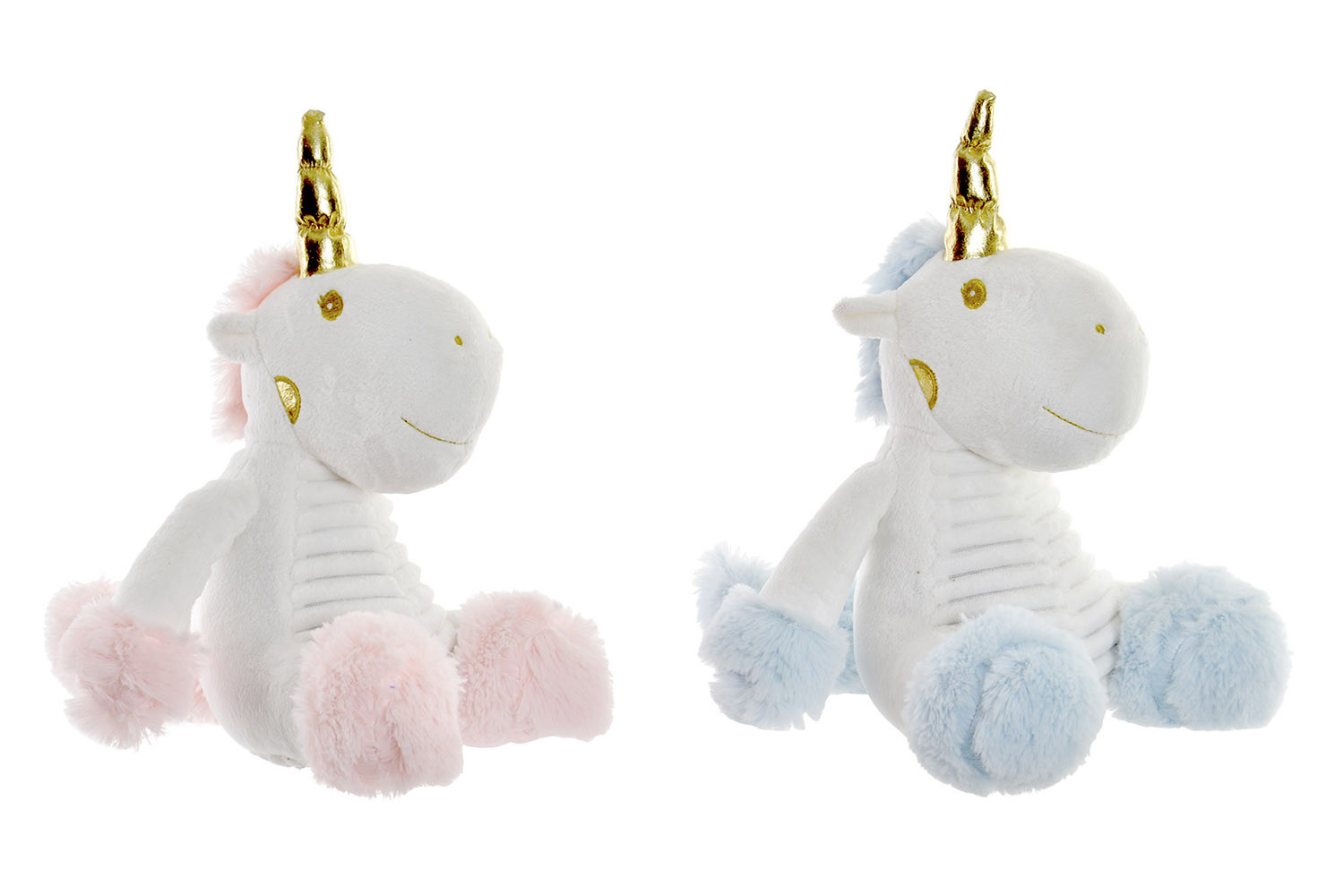 Sujetapuertas Decorative Unicorn, made in Polyester. Design Baby style Fantasy (22cm X 29cm X 20cm) - Home and More