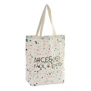 Cotton bag with Sentence Motivating, 2 Models to choose from. Original design/Modern 43X15X40 cm-Hogarymas-