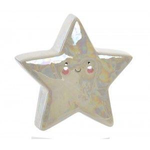 Piggy bank Child Star with finishing Pearl, 3 Models to choose from. Original design/Fun 14,2X4,5X14 cm-Hogarymas-