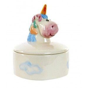 Jeweler Unicorn multi-color Dolomite, Original Design/Cheerful 10,5X10,5X13 cm-Hogarymas-