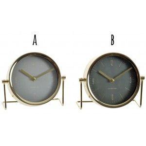 Reloj de Sobremesa Vintage Decorativo, 2 Modelos a elegir. Diseño Industrial/Original 18X6X16 cm