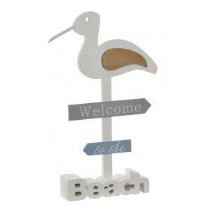 Seagull Decorative Wood, Home Decoration. Design Marine/Original 22X4X34 cm-Hogarymas-