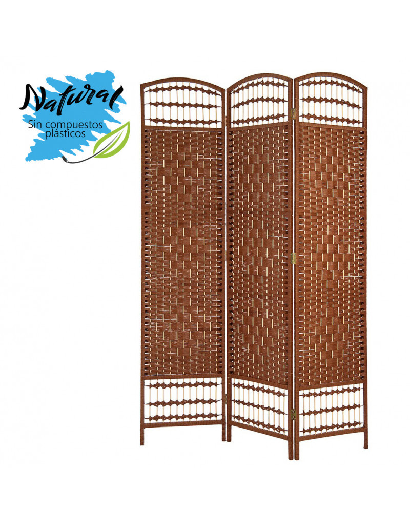 Folding screen/room Divider, Large, Bamboo, color Wenge, Bedroom or living Room, Decorative (170cmX120cmX2cm) -Home and More