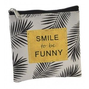Purse Women Canvas, 3 Models to choose from. Original design with phrases Motivational, 10,5X1,5X11 cm