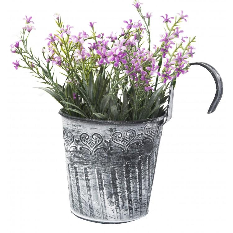 Sztuczne Kwiaty W Doniczkach Zawieszenie Z Hakiem Balkon Wydanie France Główny I Najbardziej