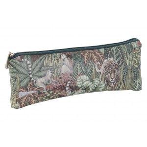 Bag Woman Travel, Design Jungle/Animals. Hygiene, Makeup, Toilet... 20X1,5X8 cm