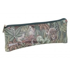 Neceser Mujer de Viaje, Diseño Jungla/Animales. Higiene, Maquillaje, Aseo... 20X1,5X8 cm