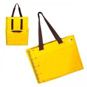 Bolsa extensible amarilla