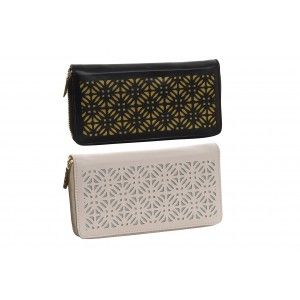 Wallet/Purse Women large Zip-up, 2 Models to choose from. Geometric design/Original 21x10x3 cm