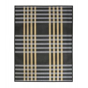 Carpet Natural Bamboo signature Columbia blue, dark and light brown of Home and More