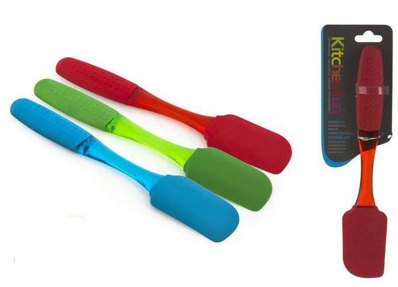 Silicone spatula. 3 colours