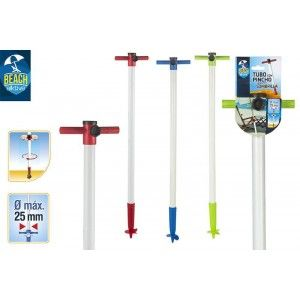 Support with Wedge Beach Umbrella, Three Colors, Home and More