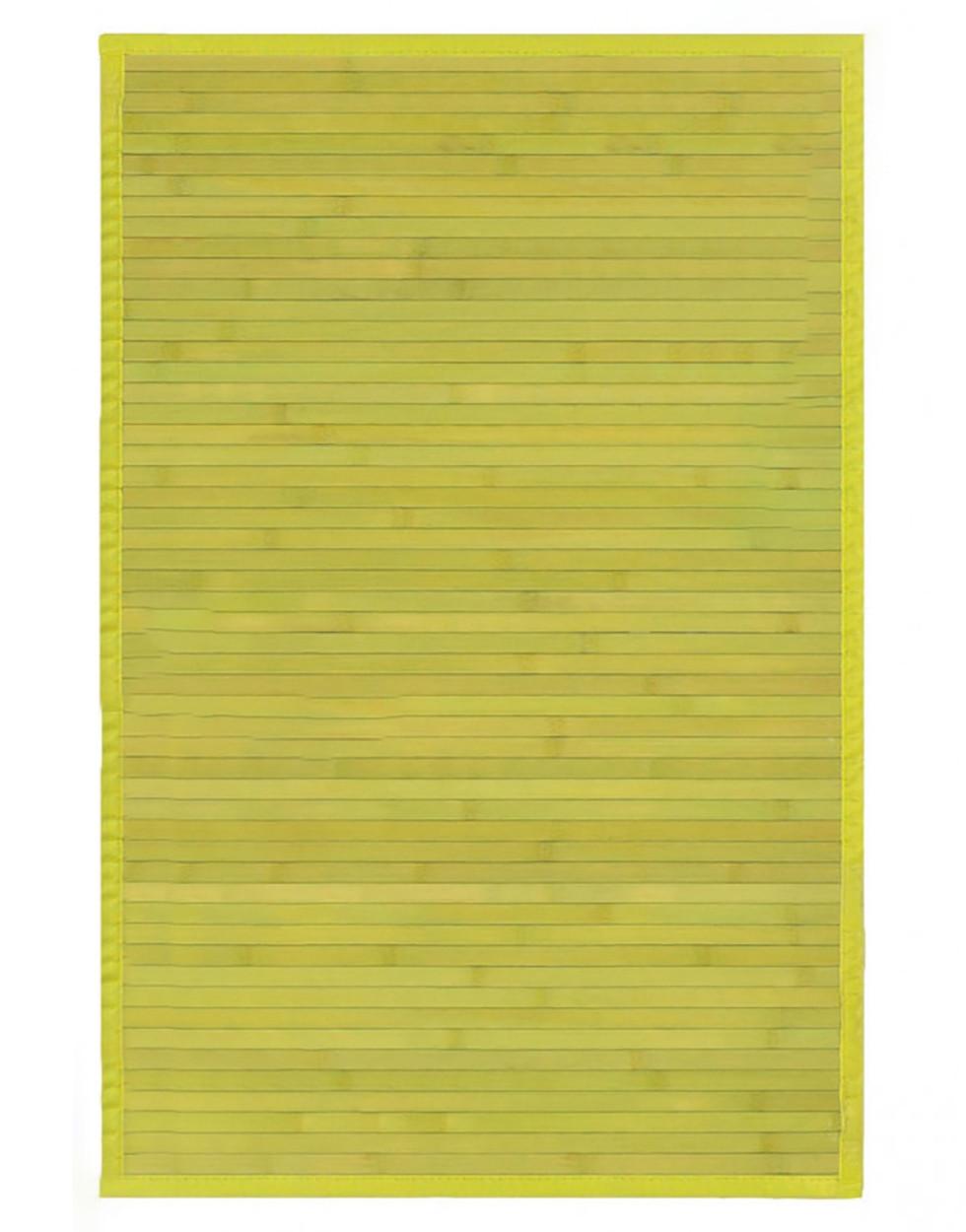 Alfombra de Bamb/ú Natural para Cocina//Dormitorio de Color Morado Oscuro con Base Antideslizante Hogar y M/ás de 60cm X 90cm