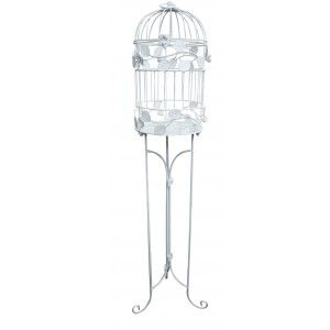 Cage stand material metal color white