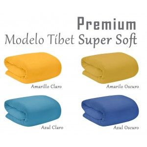 Fleece blanket for sofa, Super Soft. Model Tibet 190 X 130 cm colours - Home and more