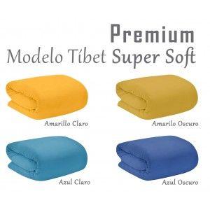 Manta polar para sofá, Super Soft. Modelo Tíbet 190 X 130 cm. de colores - Hogar y más