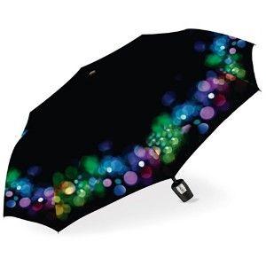 Paraguas Plegable Mujer Slimline. Paraguas Originales Funky Glitter Devota y Lomba. Extra resistente, Antiviento y Ligero ø98cm