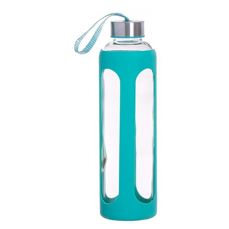 Slosh Botella Agua Vidrio Cristal Taza Viaje Deportiva Deporte