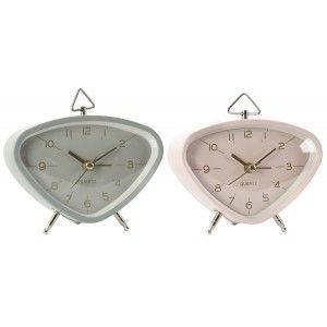 Table clock Vintage Decorative Clock Desktop Metal. Vintage design/Stylish 11X5X9 cm - Home and More
