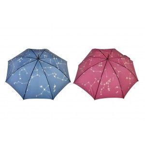Paraguas Largo Cosmos, Paraguas Original de Acero Inoxidable. Paraguas Grandes 95x85 cm -Hogar y más