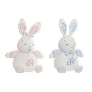 Conejo de Peluche, con estrellas, para Bebés y Niños. Diseño de Animal, con estilo Infantil - Hogar y Más