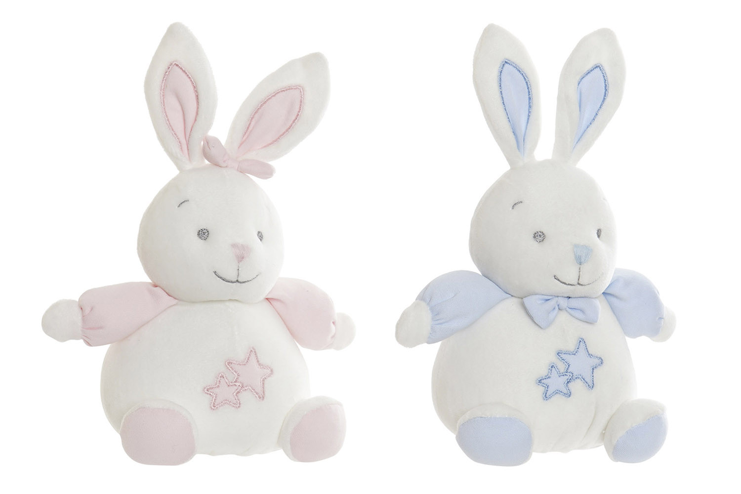 Rabbit Stuffed with stars, for Babies and Children. Design of Animal, with style Child - Home and More